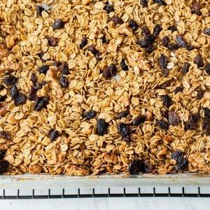 pumpkin spice granola gluten-free vegan