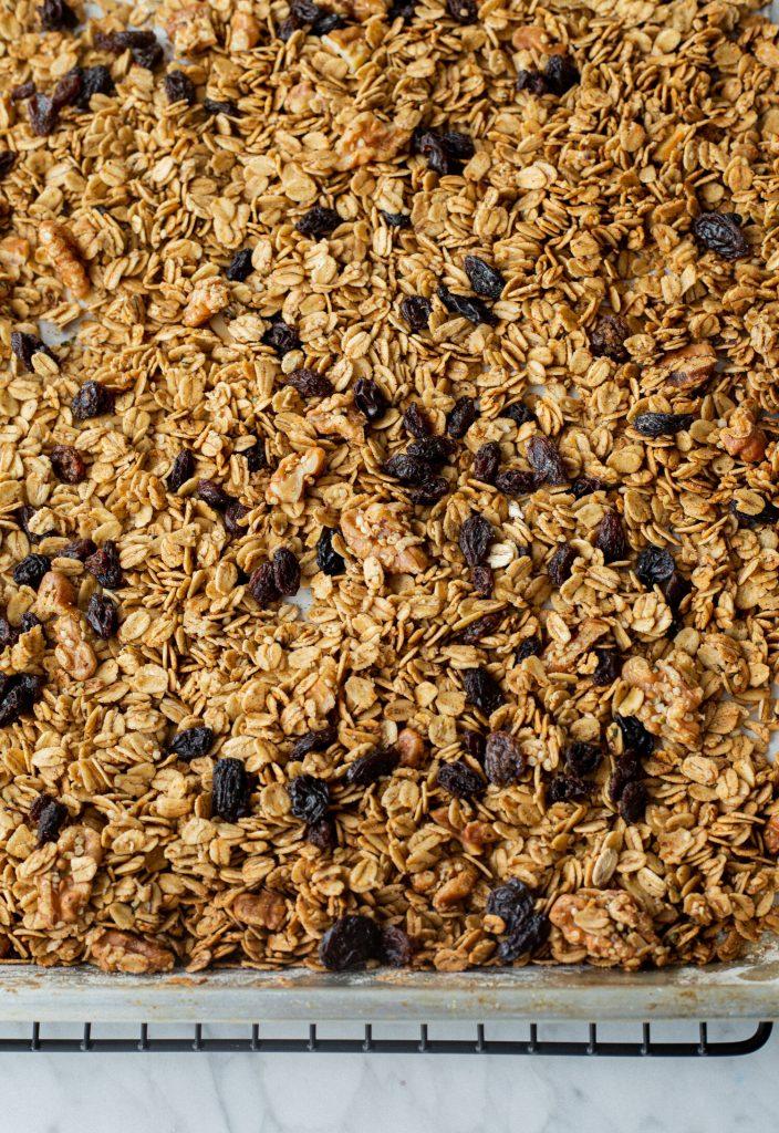 gluten-free pumpkin spice granola recipe