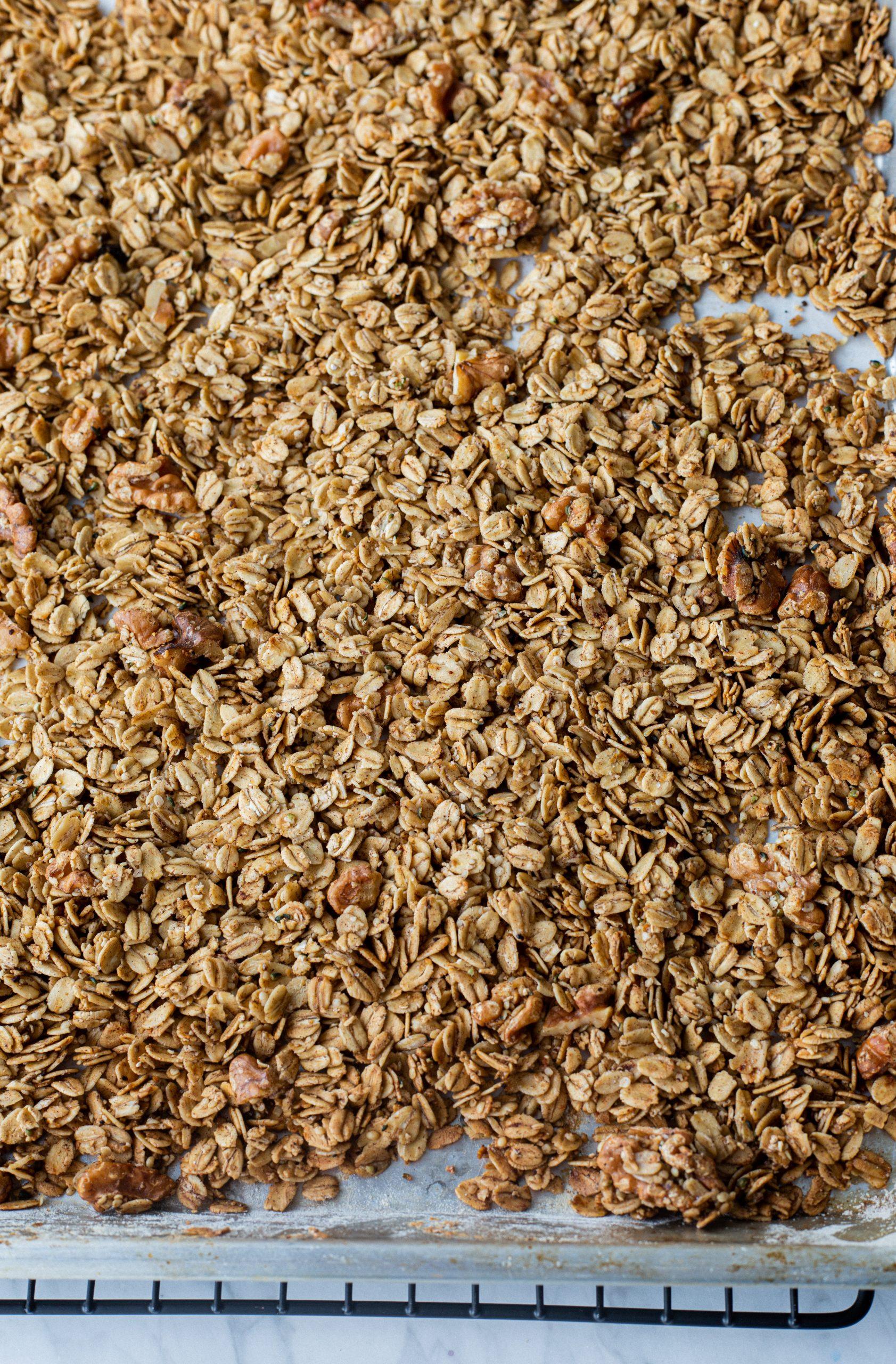 pumpkin spice gluten-free granola